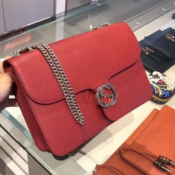 44cf38de094e Gucci Bags | Interlocking Gg Crossbody Shoulder Handbag | Poshmark